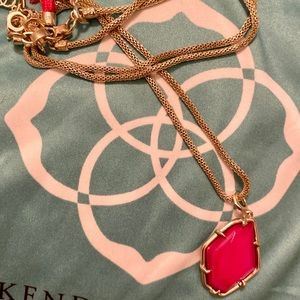 Kendra Scott Red Pearl necklace